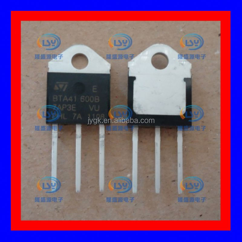 The bidirectional thyristor b BTA41600B 41 a 600 v ST TO - 3 p new--LSYD2 New IC BTA41-600