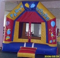 Party balloon inflatable bounce house/bouncing castle
