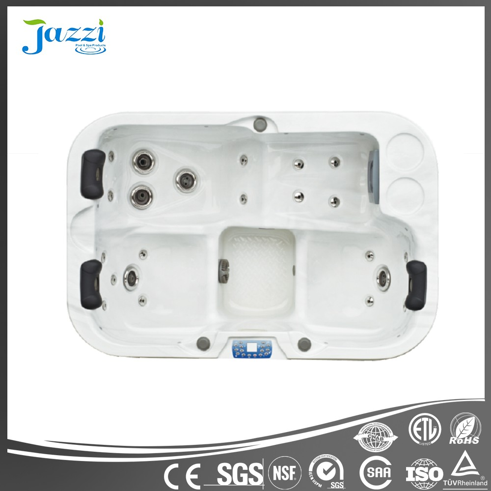 JAZZI Reversible Drain Location and Freestanding Installation Type Korea Home Sex Massage Hot Spa SKT335E