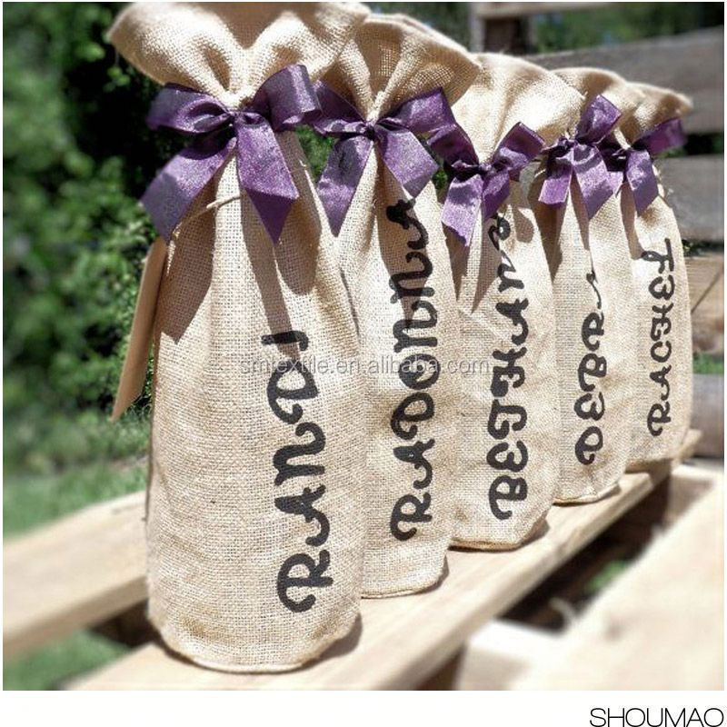 For Gift popular Fabric Wine Bags
