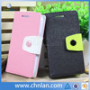 Hot selling dual color wallet leather phone case for samsung galaxy core i8260 i8262 with slot and stand