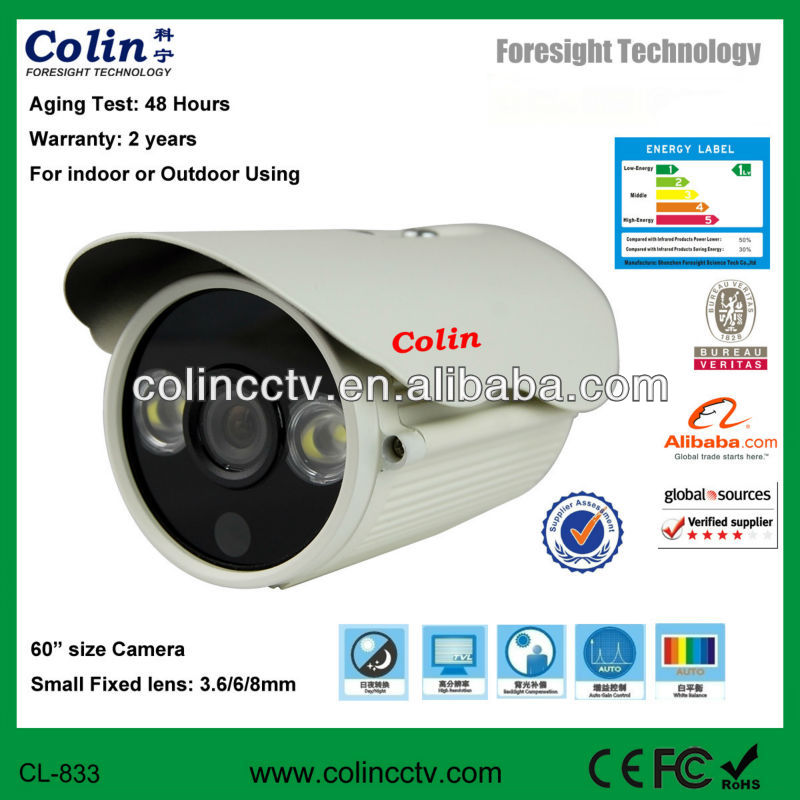 Colin supply 700tvl cctv safety ccd camera video surveillance security camera thermal night vision camera