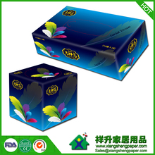 OEM box facial tissue100% Virgin Wood Pulp soft OEM box facial Unbleached Promotional Super Soft boxed Facial Tissue OEM Factory