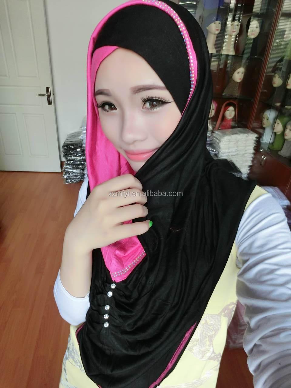Cotton Jersey Scarf Hijab Muslim Hijab Fashion Scarf Malaysia Arab Hijab Buy Muslim Hijab