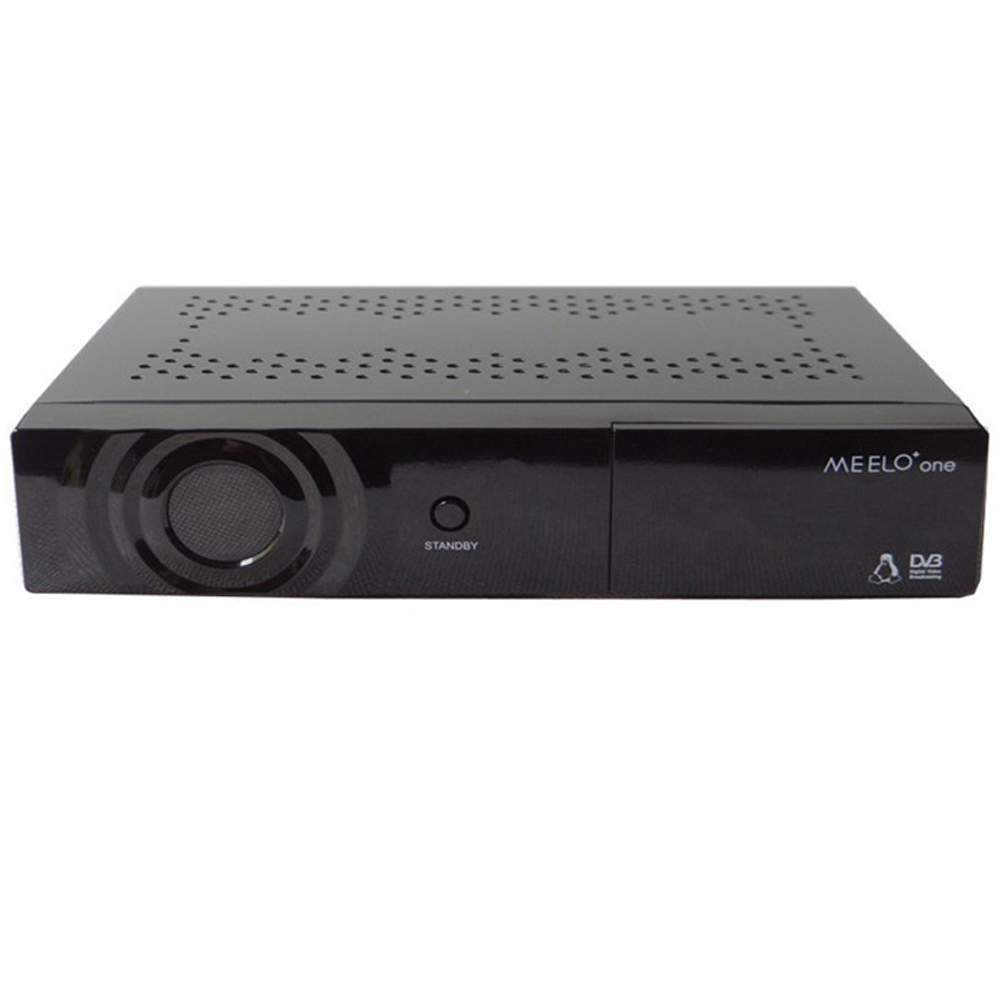Meelo+ one Enigma2 Linux OS Broadcom BCM7358 750 DMIPS Processor DVB-S2 Satellite receiver Xcrypt and Conax embedded Smart Card