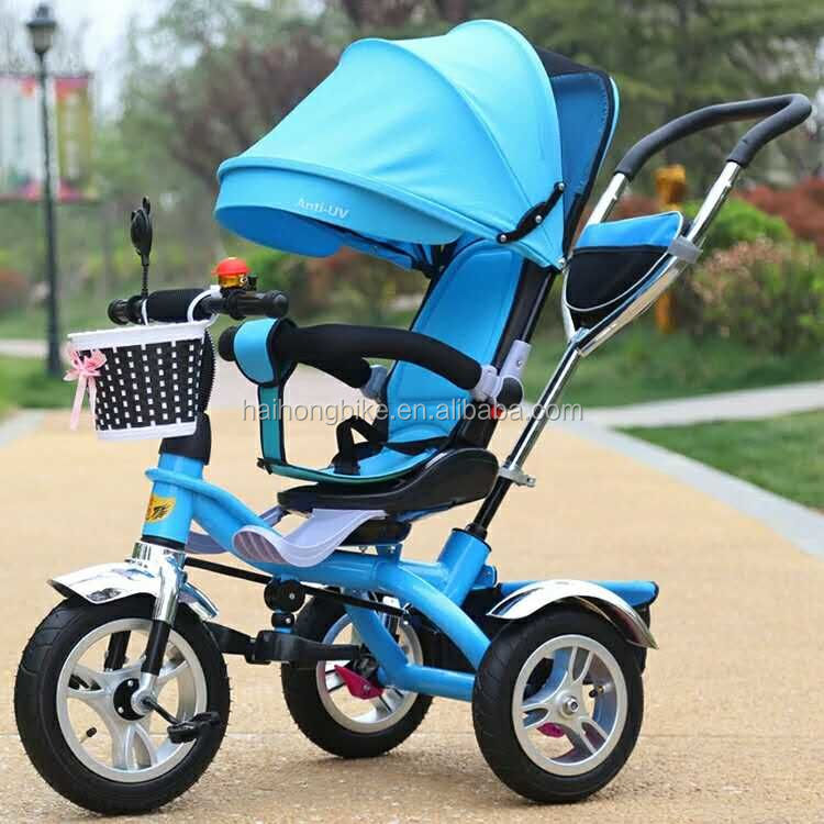 Safety baby trikes/children toys foldable plastic tricycle for kids/EURO quality children tricycles