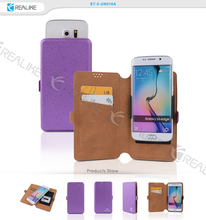 Guangzhou free sample universal leather mobile phone case for hisense