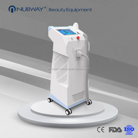 most fasion NUBWAY 10 bars big power painless 808nm laser diode hair removal