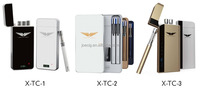 Best selling refillable mini atomizer cartridge vape e cigarette with pcc charging carrying case mini vape pen ecig X-TC