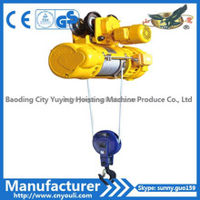 electric elevator wire rope hoist CD1 type construction hoist