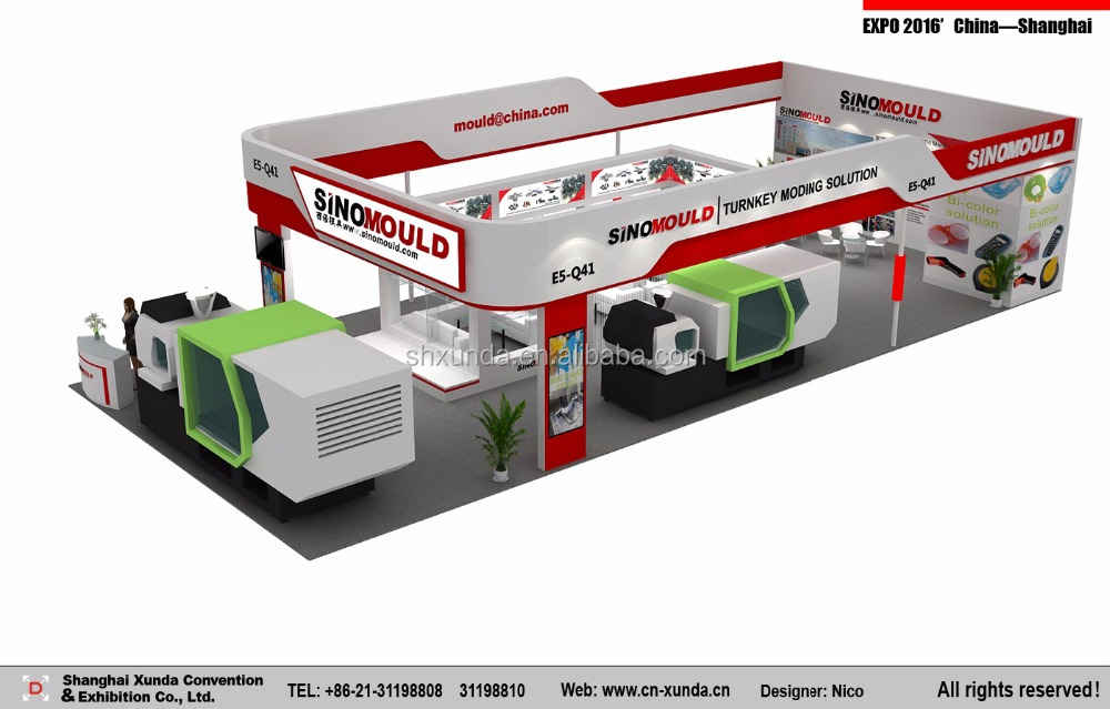 Chinaplas 2017 Guangzhou Exhibition stand contractor