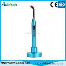 Orthodontic LED curing light for dental cure with aluninum alloy handle ADS-E02