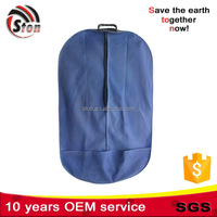 foldable Polyester nylon Suit cover Bag for Garment