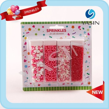 Valentine Day Cake DecorationColored Sugar Sprinklesholiday sprinkles
