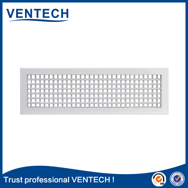 Ventech aluminum air duct grille supply air double deflection grille