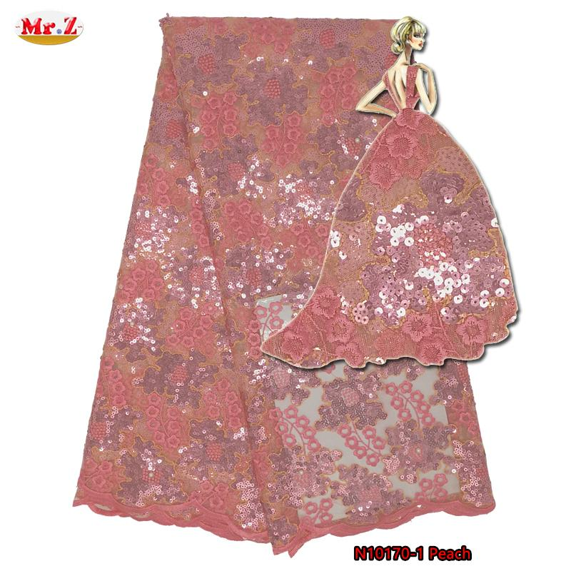Mr.Z Organza Sequence Lace Fabric