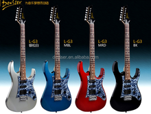 wholesale music unstruments left hand electric guitar