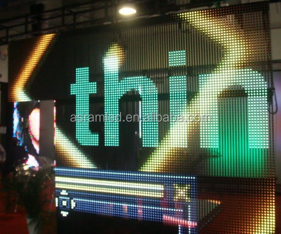 Hot for indoor stage l led display P6 indoor fullcolor led display board in china