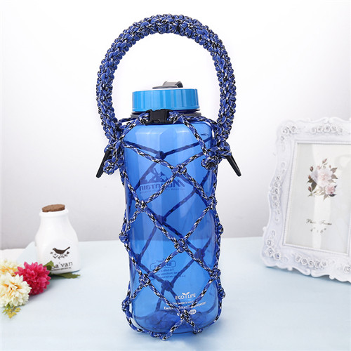 HOT! HOT! HOT! New style Survival Paracord Weave Water Bottle Holder