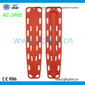 Hot sell water rescue floating plastic HDPE spine board