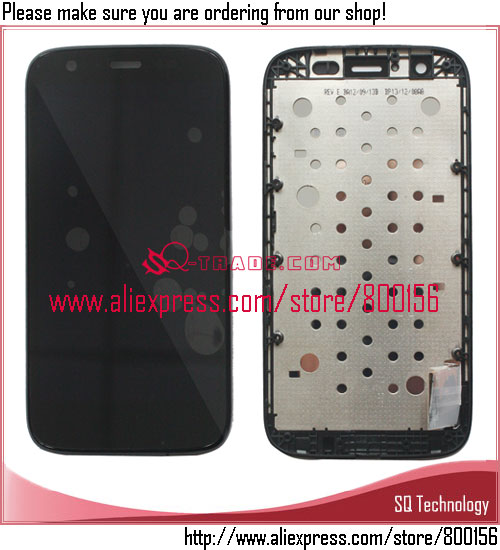 Mobile Phone for Motorola for Moto <strong>G</strong> Screen Display +Touch Digitizer Complete +Frame