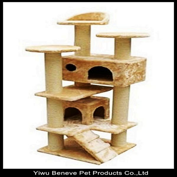 arbre chat beneve condo meubles gratignurele poste maison pour animaux de compagnie jouets. Black Bedroom Furniture Sets. Home Design Ideas