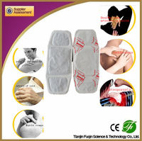 2014 best selling health care product wholesale iron powder adhesive neck warmer pad / neck and shoulder heat pad