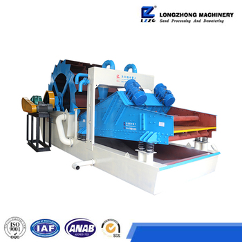 hot sale china silica sand washer with low price