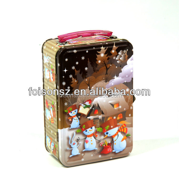 practical custom tin lunch boxes, tin box for food storage