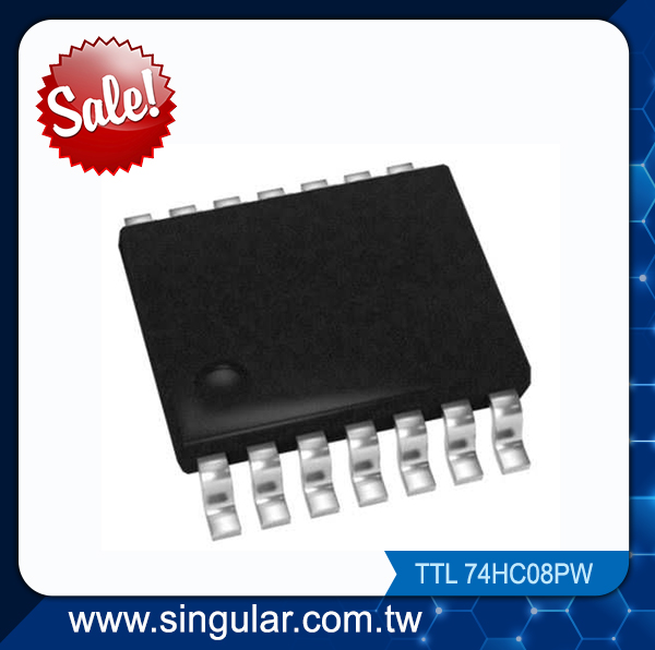 stock clearance sale 74HC08PW Quad 2-input AND gate IC
