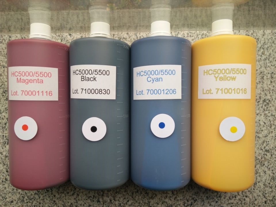 Duplicating Ink for HC5500 ComColor Ink with Chips Compatible
