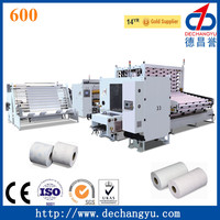 High Speed Toilet Tissue Paper Machinery Production Line