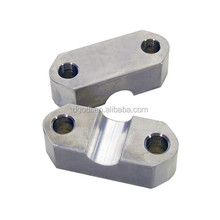 Machining parts, 7075 t6 aluminium ATV Handlebar Clamp Block