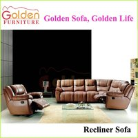 TV Room L Shape with a Single Recliner Sofa Modern Compact Sofa
