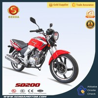 Chongqing China Manufacturer New Product 200CC Street Bike Liberty Motorcycle for Sale SD200