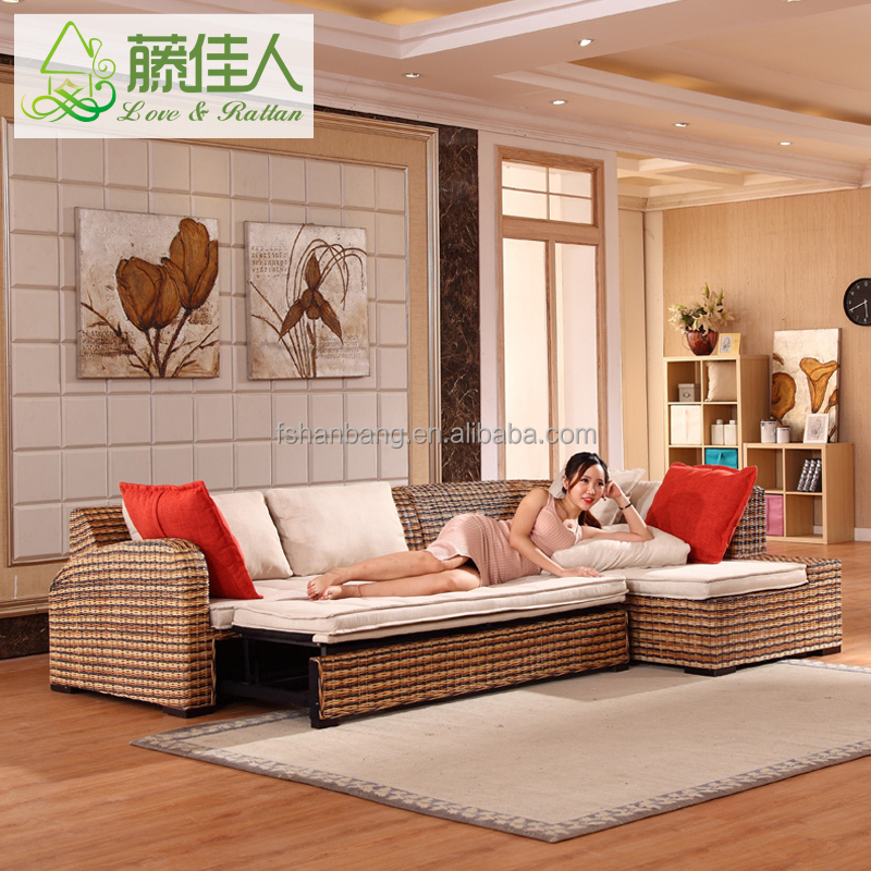 new design living room furniture set rattan electric
