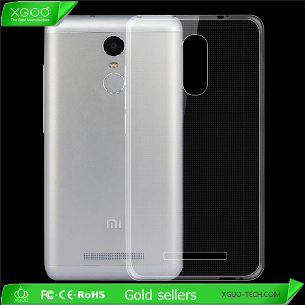 soft tpu case for xiaomi redmi note3 back cover