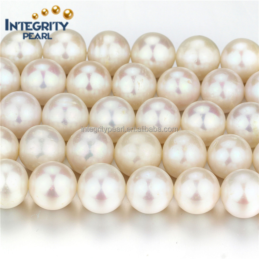 12mm AA perfect round genuine freshwater loose pearls pearl cultured pearls