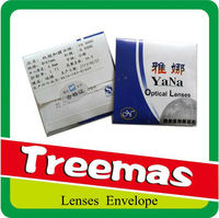Chinese paper envelope manufacturer packing for opticians /camera / scanner / laser / watch lenses