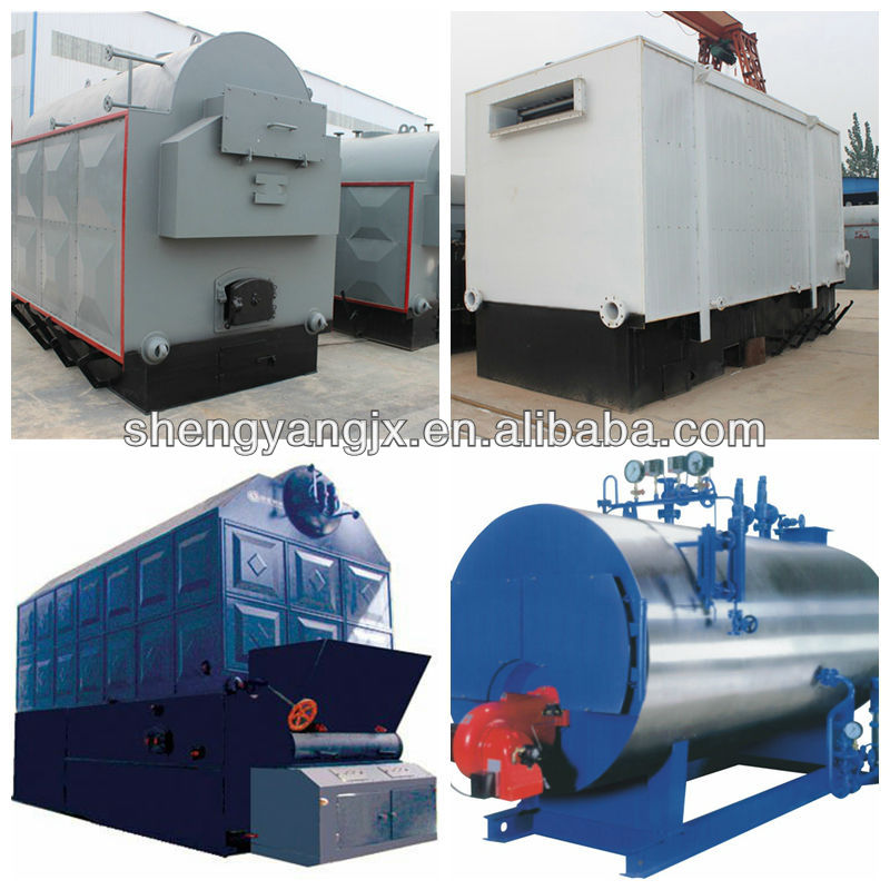 Chinese High efficiency / large heating surface / 3-pass / packgae / fully automatic /hot water boiler prices