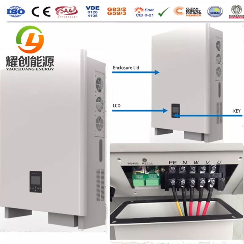Yaochuang 50KW On Grid Solar System Solar Panel Kits Solar Power Plant