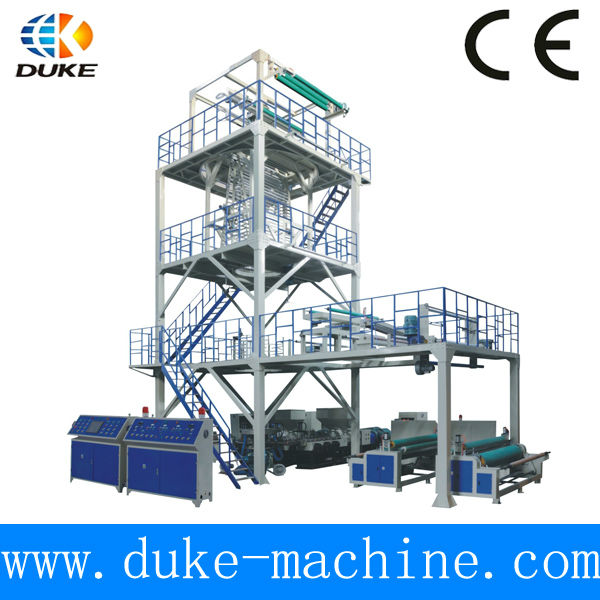 DK-AD Three Layer Co-extrusion Plastic Blown Film Line