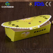 Comgesi good quality free samples take out new design fried chicken packaging box tray bag container