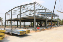 prefab steel structure houses industrial shed designs