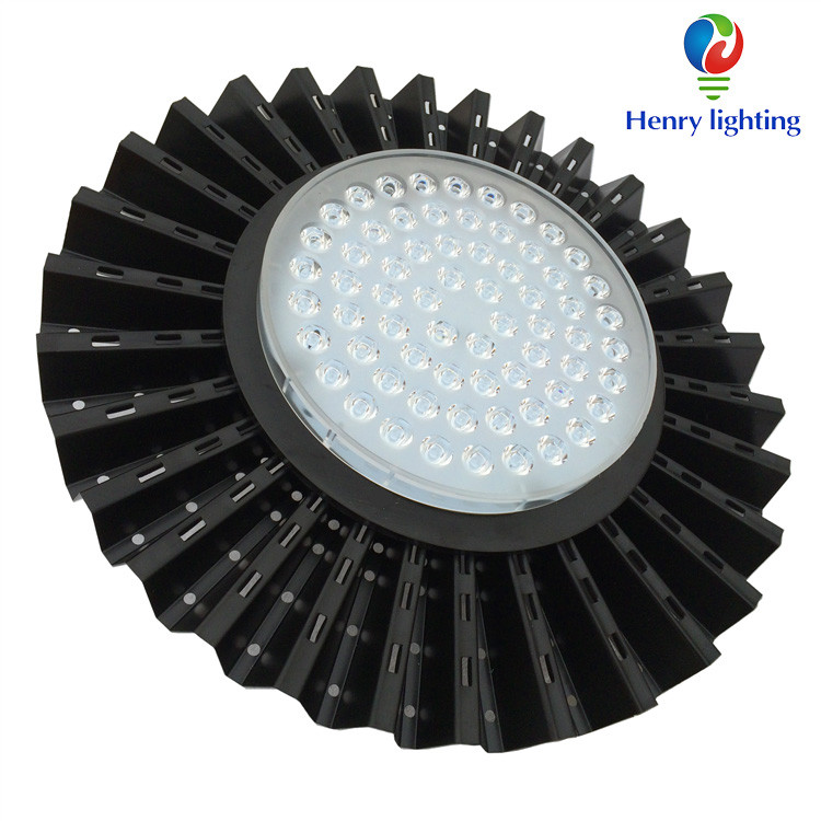 Round High Bay Led Lighting Fixture With Linear Constant Current 200W Led High Bay Light