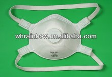 CE approved FFP3 industrial dust mask WITH VALVE