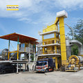 SAP120 asphalt equipment,stationary batch mix type 120t/h asphalt plant price