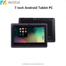 7inch IPS Touch Screen 1280*800 Q88 Quad Core WIFI Bluetooth Android 4.4 7 inch Best Low Price Tablet PC