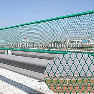Highway Road Expanded Metal Fence/ Expanded Metal Fence Panels/ anti-dazzle mesh fence
