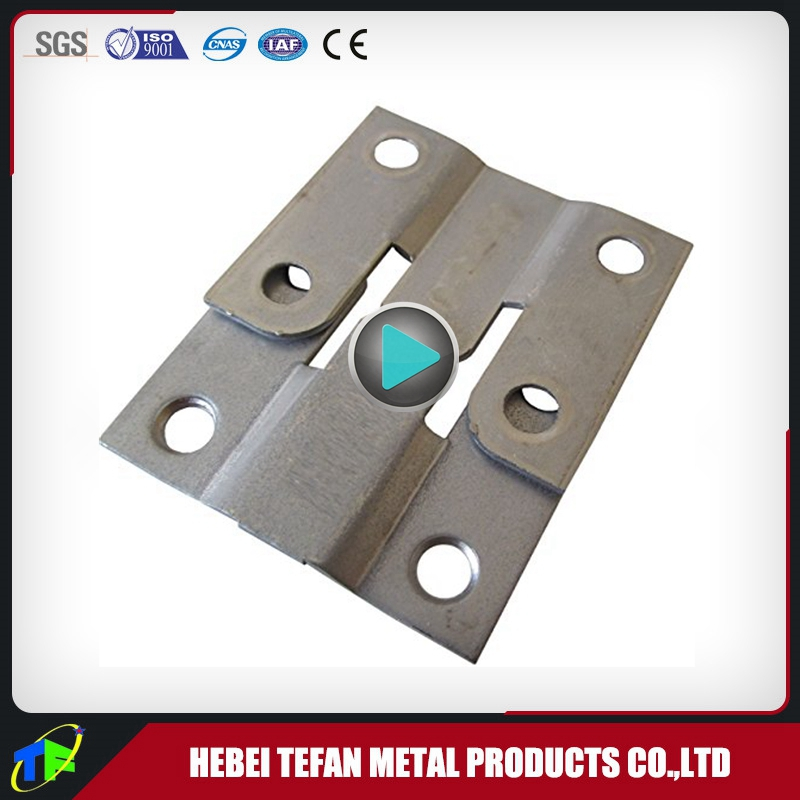 Custom Metal Stamping Z Clip Hardware With Nickel Plated Finish